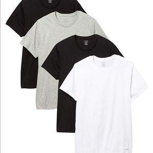 Calvin Klein 4 pack t shirts